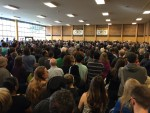 Packed beyond capacity at Whitman Middle School